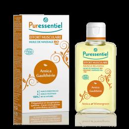 Huile de massage bio - Effort musculaire  – Puressentiel